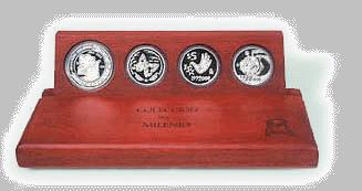 Millennium collection, silver, Banco de México